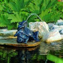 Békapár kerti vízköpő 21,5cm