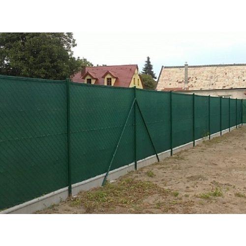 Árnyékoló háló 1x10m zöld 80%