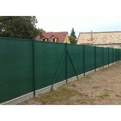 Árnyékoló háló 1,8x10m zöld 80%