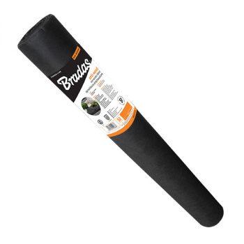 Talajtakaró fekete geotextília 50g/m2 UV stab. 1,1m x 50m (55m2)
