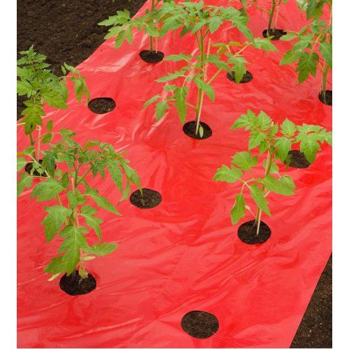Takarófólia paradicsomhoz piros, 0,95mx5m.