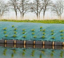 Agroszövet talajtakaró,zöld 2x5m 90g/m2/10m2