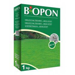 Biopon gyep műtrágya Moha-Stop 1 kg