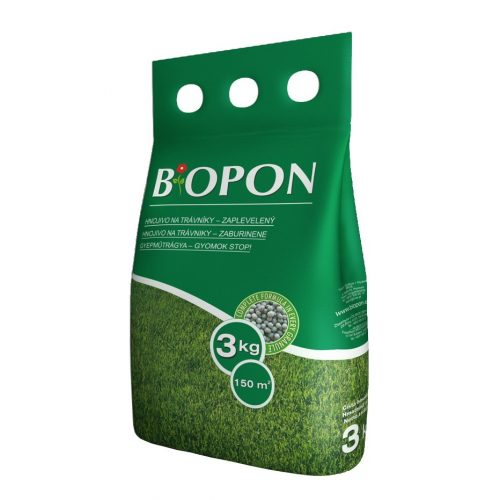 Biopon gyepműtrágya Gyomok-Stop 3 kg