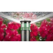 PS-Ultra szektorolható szórófej 10 cm kiem, 10A állítható spray fúvókával r = 3 m