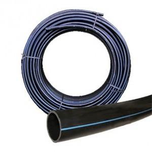Mezőgazdasági PE cső, 40 mm - 6 bar csak öntözéshez 1m