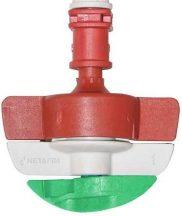 Netafim SpinNet SD mikroszórófej 120/70 Piros-piros-zöld rotor