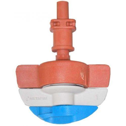 SpinNet SD mikroszórófej 120/70 Piros-piros-kék rotor