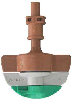 Netafim SpinNet SD mikroszórófej 160/90 Barna-barna-zöld rotor