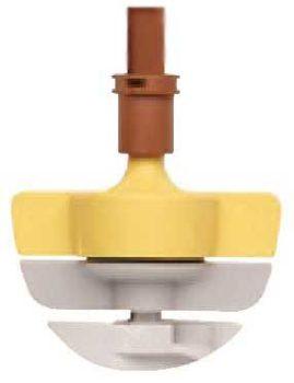 Netafim SpinNet SD mikroszórófej 200/90 Sárga-barna-szürke rotor